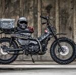 Modifikasi Honda CT125, Tampil Gahar dengan Knalpot ala Senjata Militer