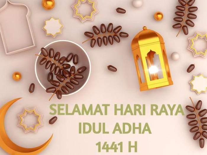 Kartu Ucapan Idul Adha 2020 1441 H Dengan Desain Unik