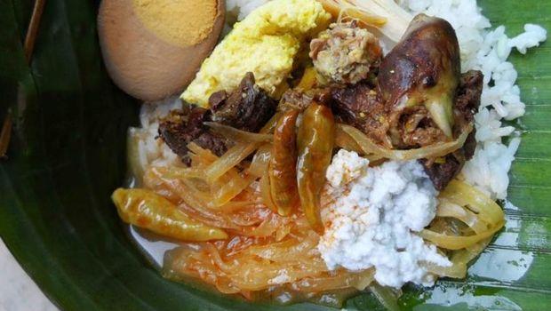 kuliner khas Wonogiri: nasi liwet