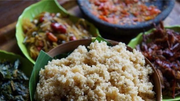 kuliner khas Wonogiri: nasi tiwul