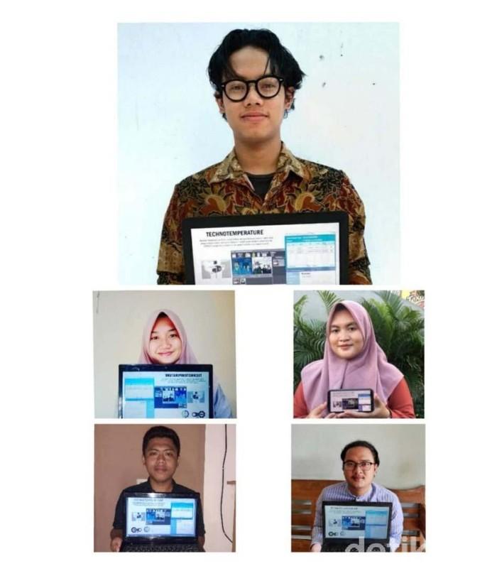 mahasiswa its membuat Inovasikan Detektor Suhu Terintegrasi