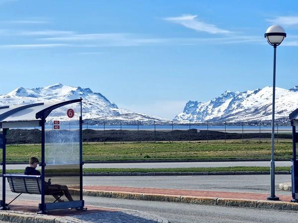 Norwegia punya alam yang indah. Pemandangan haltenya saja seperti ini. (Ruswandi/Istimewa)