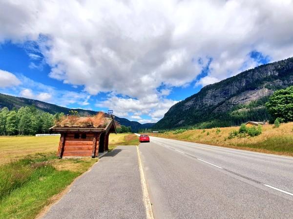 Tak ada kemacetan, yang ada pemandangan seindah lukisan. (Ruswandi/Istimewa)