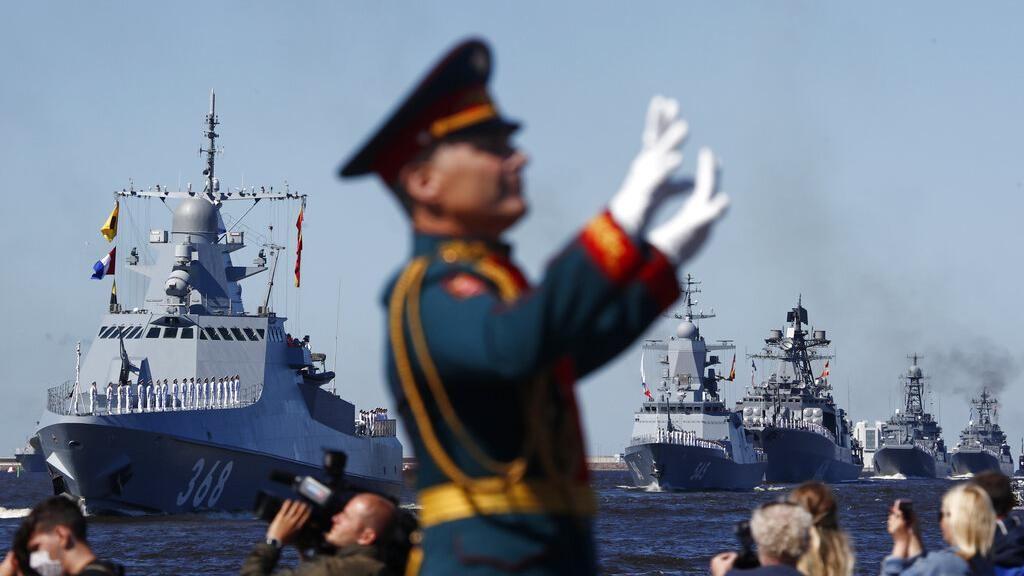 Pertama Kali! Kapal Perang Rusia-China Gelar Patroli Gabungan di Pasifik