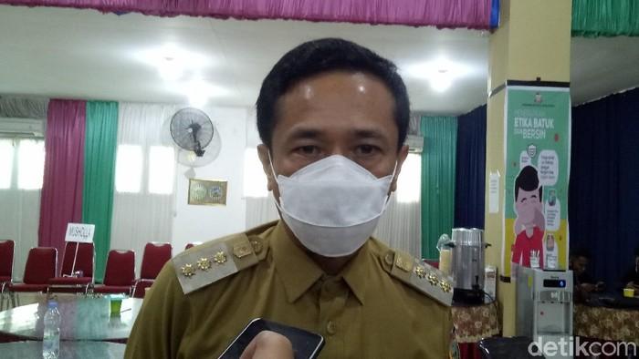 Pj Wali Kota Makassar Rudy Djamaluddin (Ibnu Munsir-detikcom).