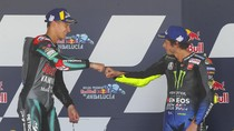Quartararo dan Rossi Beda Dua Dekade, Kompak Kejar Rekor di Brno
