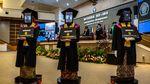 Robot Peraga Wakilkan Wisuda Mahasiswa Undip