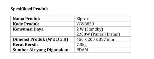 Advance Zipro