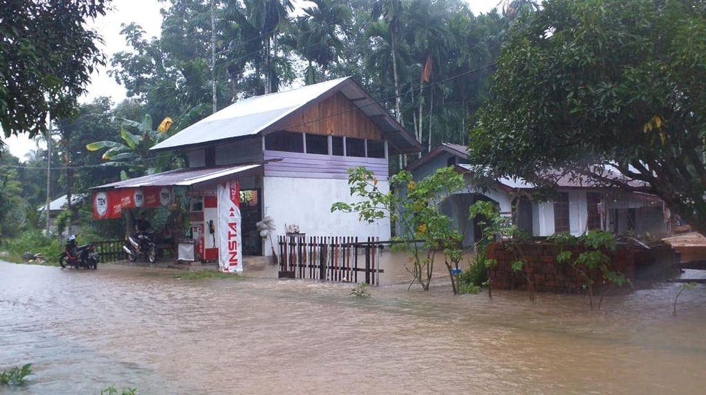 Banjir di Aceh Selatan Meluas ke 17 Desa, 3.985 Warga Terdampak