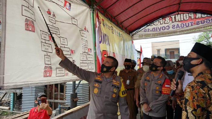 Cek Kampung Tangguh di Tangerang, Kapolda Bicara Penanggulangan COVID-19