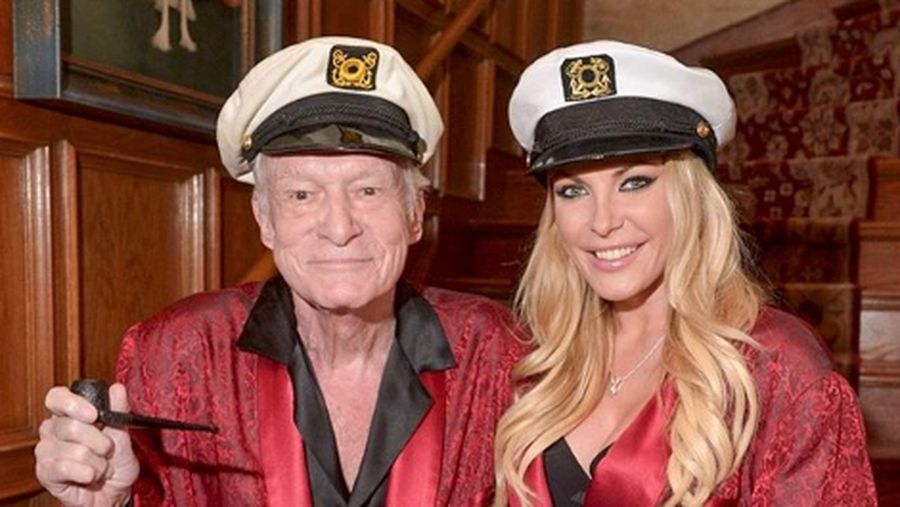 LOS ANGELES, CA - JANUARY 16:  Miss December 2009 Crystal Hefner prepares for Playboys 60th Anniversary special event on January 16, 2014 in Los Angeles, California.  (Photo by Charley Gallay/Getty Images for Playboy)