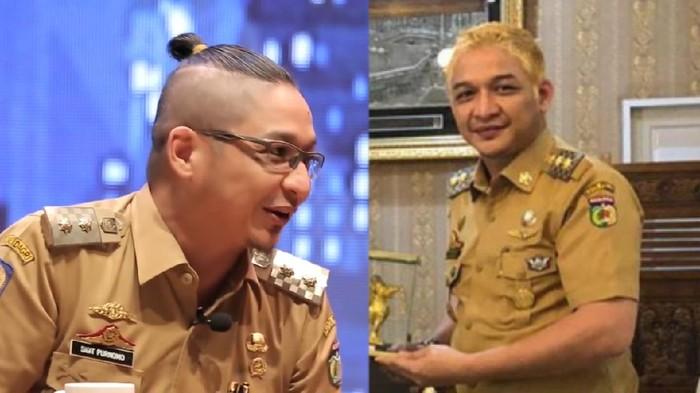 Wakil Wali Kota Palu Sigit Purnomo Syamsuddin Said atau Pasha Ungu melakukan cat pirang pada rambutnya. Pada 2018 lalu, Pasha pernah disebut tak etis oleh Kemendagri gegara rambutnya dikuncir.