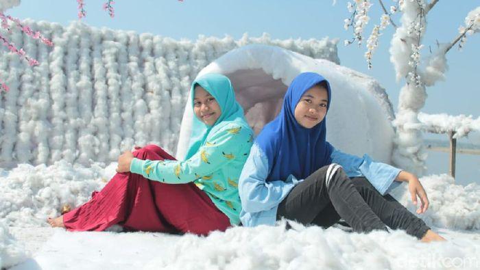 Tempat main salju di Lamongan