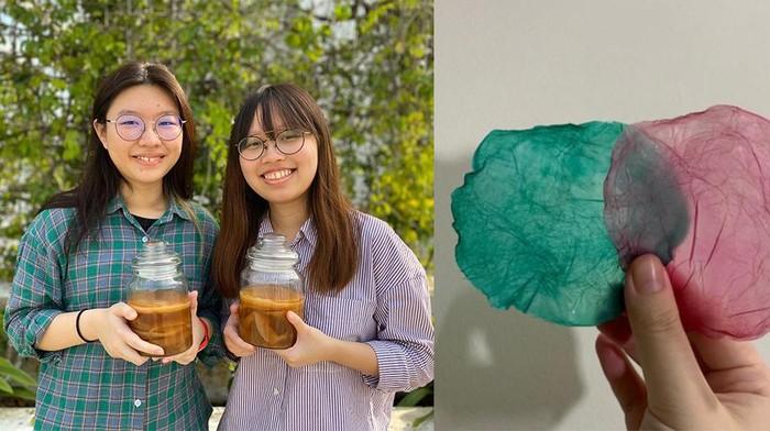 Pelajar Bikin Limbah Makanan Jadi Bahan Kulit