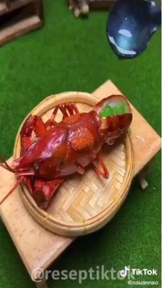 Tutorial Masak Lobster Mini