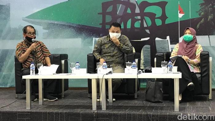 Mardani Ali Sera (tengah) (Mochammad Zhacky/detikcom)
