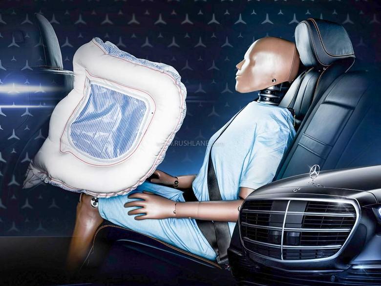Mercedes-Benz S Class 2021 akan dilengkapi fitur airbags untuk penumpang baris belakang