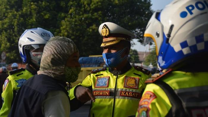 Operasi Patuh Jaya di Depok