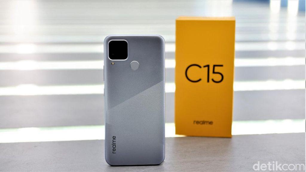 Unboxing Realme C15