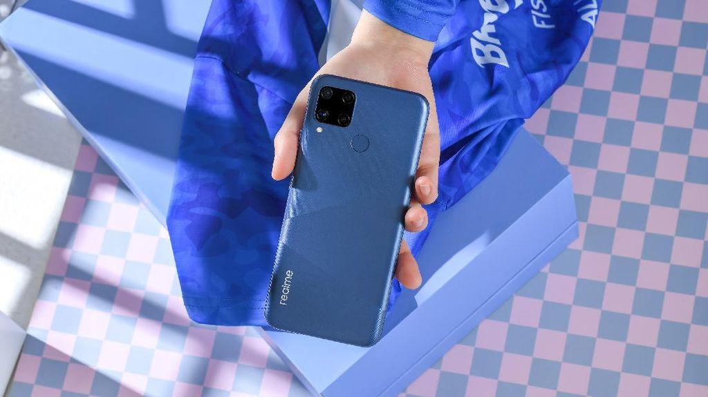 Realme C15 Bawa Baterai 6.000 mAh Dirilis Hari Ini
