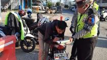 Viral Pengemudi Motor di Lampung Ditilang Karena Pakai Pelat Thailand