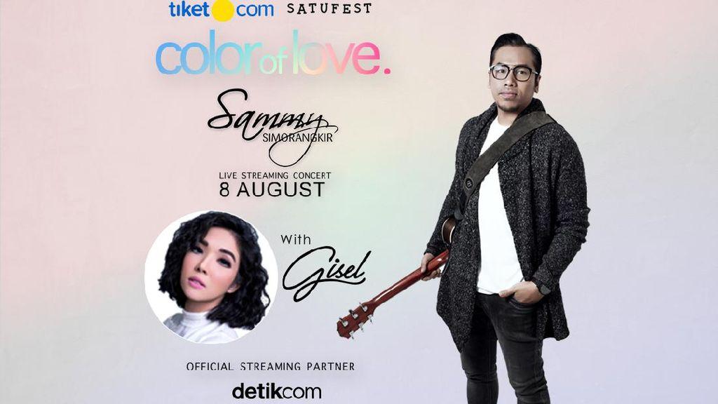 Romantis Bareng Sammy Simorangkir di Konser Color of Love
