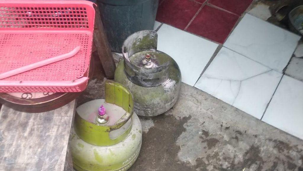 Pemilik Warung di Depok Panik Gas Bocor, Sempat Keluar Api dari Tabung