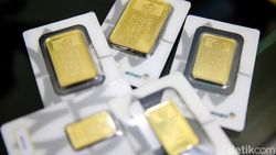 Harga Emas Antam Hari Ini Tak Bergerak, Berikut Rinciannya