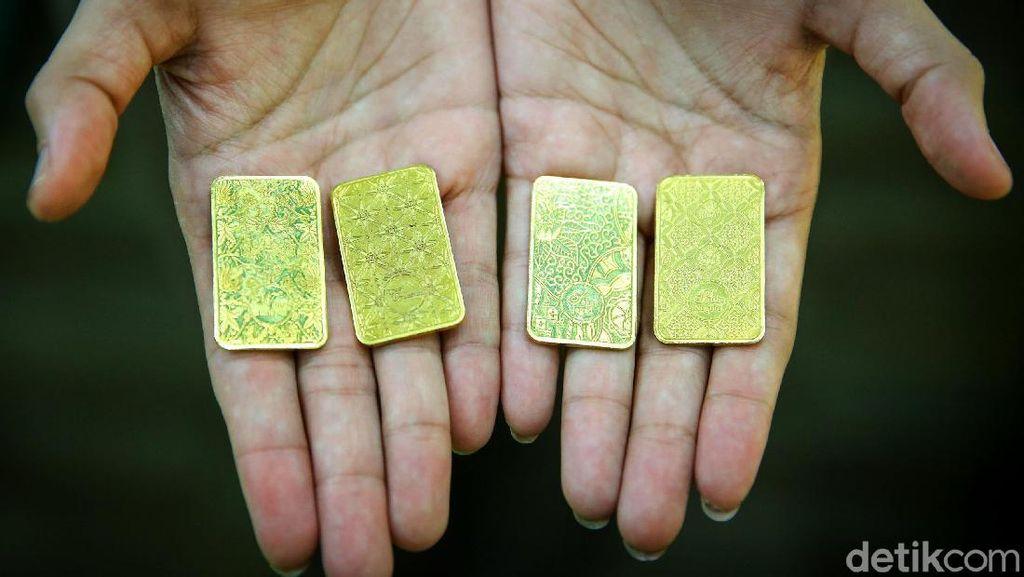 Cetak Sejarah, Harga Emas Dunia Tembus US$ 2.000/Troy Ounce