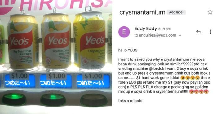 Netizen Ini Tuntut Kerugian Rp 10 Ribu Karena Salah Beli Minuman