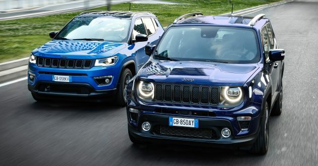 Jeep Compass dan Renegade 4xe PHEV