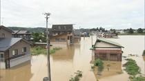 Jepang Kebanjiran, Rumah hingga Mobil Terendam