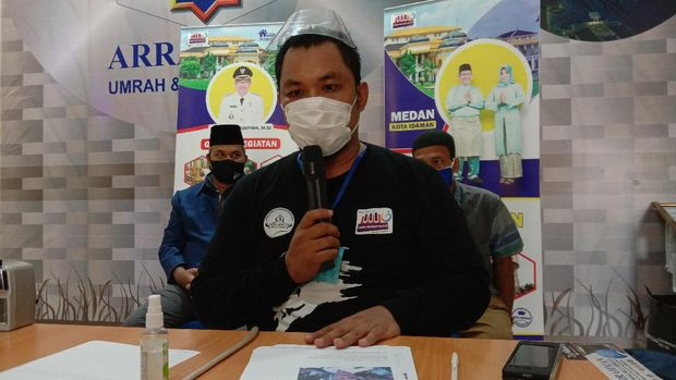 Ketua Relawan Jadikan Akhyar Medan Satu Ade Dermawan