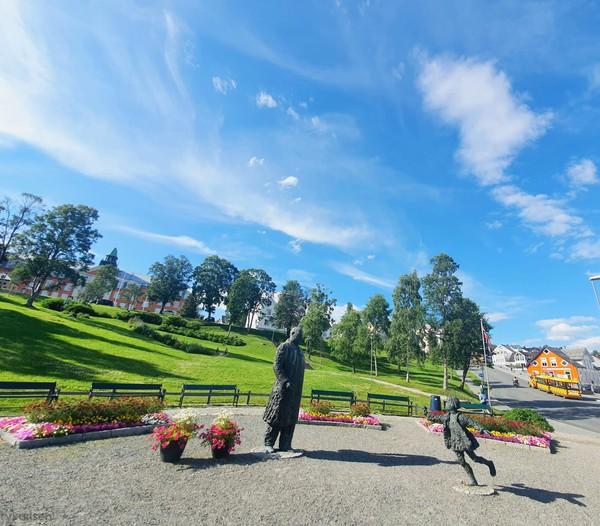 Inilah Kota Tromso di Norwegia. Tromso dijuluki sebagai Kota Bunga di Utara Bumi. (Ruswandi/Istimewa)