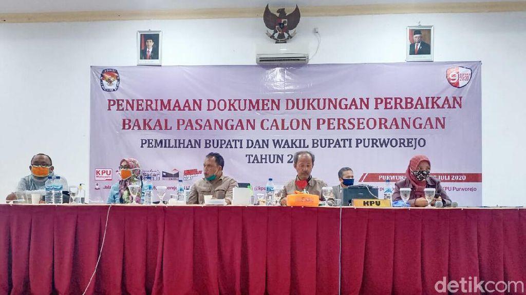 KPU Purworejo Tolak Dokumen Perbaikan Bapaslon Independen Slamet-Suyanto