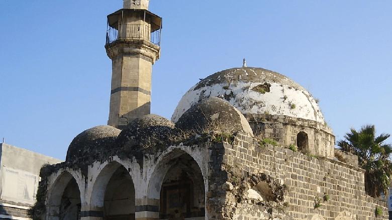 Masjid di Tiberias, Israel.