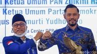 Momen AHY Silaturahmi ke Kantor DPP PAN