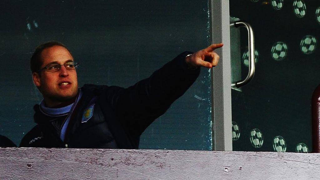 Alasan Pangeran William Pilih Jadi Fans Villa daripada MU