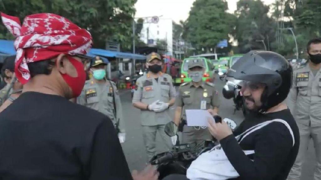 Ingat! Warga Kota Bogor Tak Pakai Masker Didenda Rp 150 Ribu