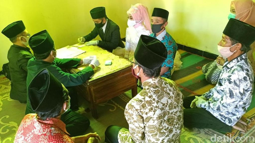 Angka Pernikahan di Blitar Melonjak Tajam, Resepsi Diimbau Ditunda
