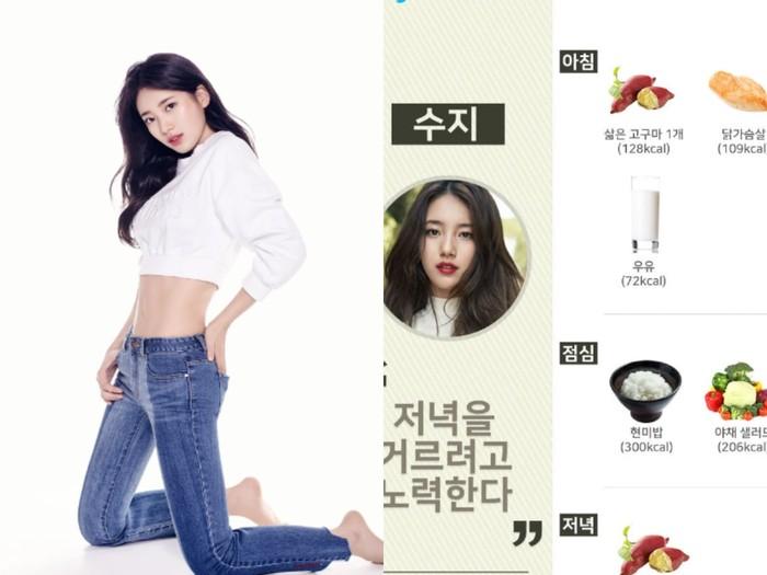 Pola makan idol Korea untuk tubuh ideal