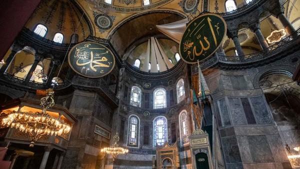 Bangunan museum ini resmi difungsikan kembali menjadi masjid oleh Presiden Turki, Recep Tayyip Erdogan pada Jumat (10/7/2020) lalu.