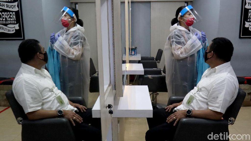 Salon di Bandung juga Terapkan Protokol Kesehatan
