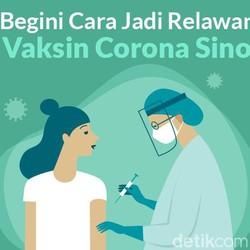 Sudah Bisa Daftar Lho! Ini Syarat Jadi Relawan Uji Vaksin Corona Sinovac