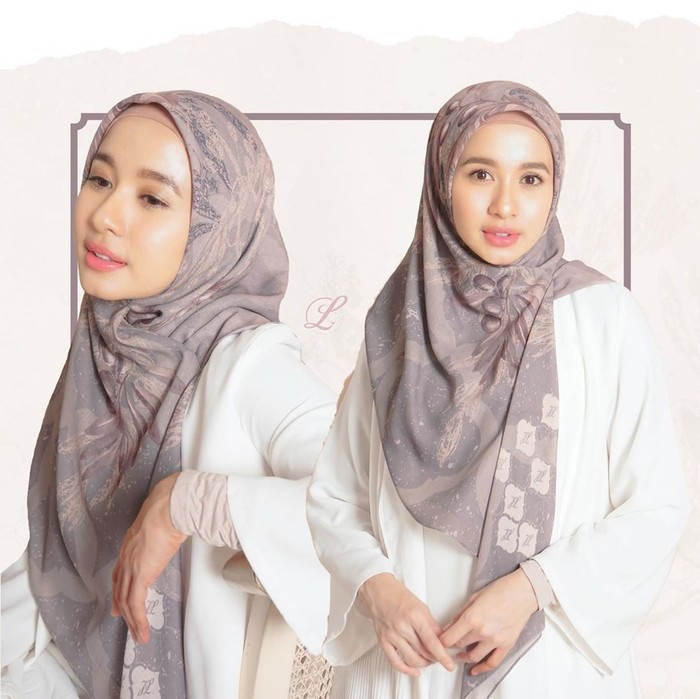 Tutorial hijab ala LAudya Cynthia Bella