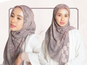 6 Tutorial Hijab Pashmina dan Segi Empat Buat Idul Adha