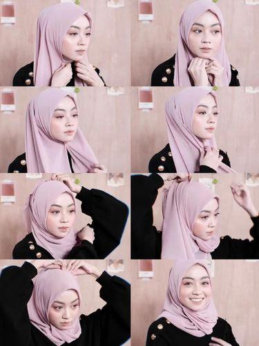 tutoril hijab
