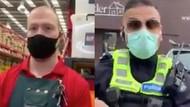 Video Warga Australia Menolak Pakai Masker Jadi Viral di Media Sosial