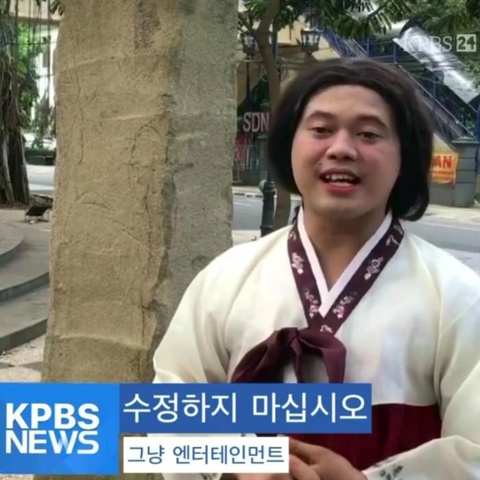 Video viral berita bahasa sunda tayang di tivi korea