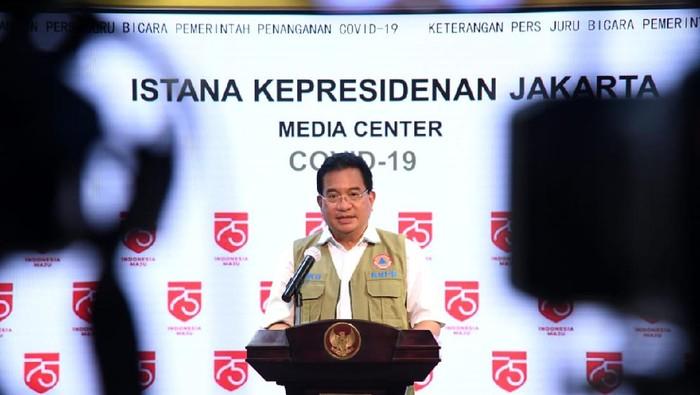 Jubir Satgas Penanganan COVID-19 Wiku Adisasmito.